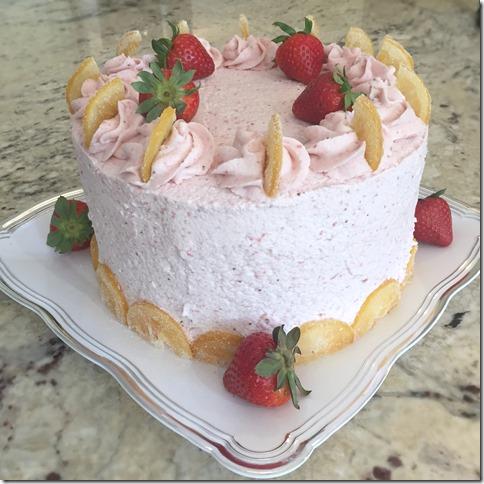 Strawberry Lemonade Cake 2