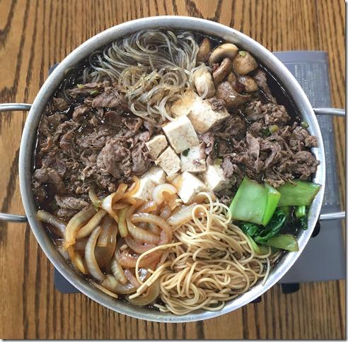 Japanese Sukiyaki 1