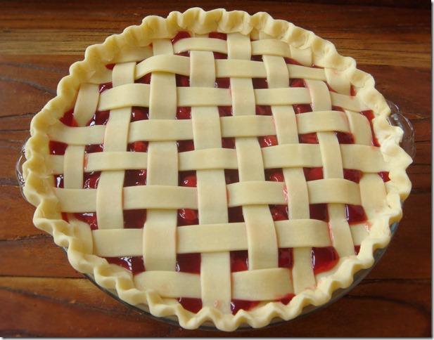 Sour Cherry Pie 2