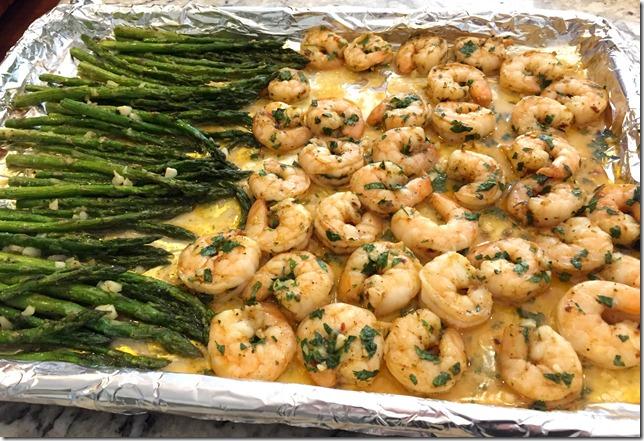 Garlic Lemon Shrimp and Asparagus 2