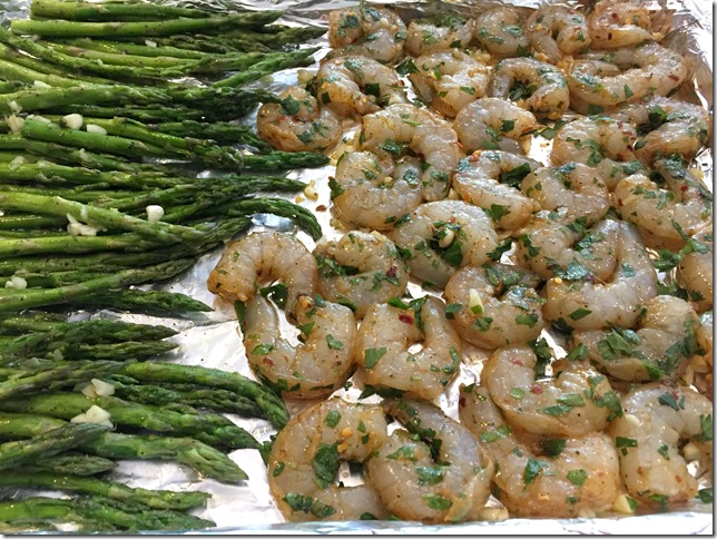 Garlic Lemon Shrimp and Asparagus 3